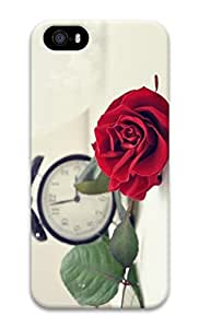 Personalized iPhone 5 3D Custom Case Red Rose