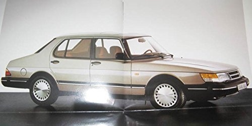 Amazon.com: 1988 Saab 900 & Turbo 9000 & Turbo Brochure Finland: Entertainment Collectibles