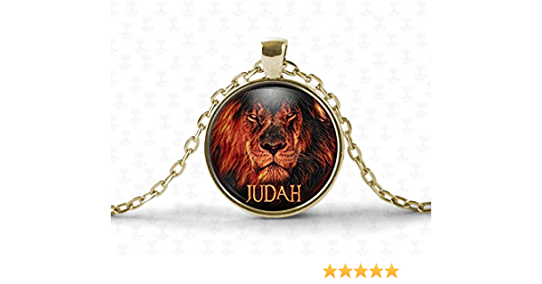 TAHLIA Hebrew Israelite Jewelry for Men and Women Lion of Judah Necklace Chain Israelite Necklace