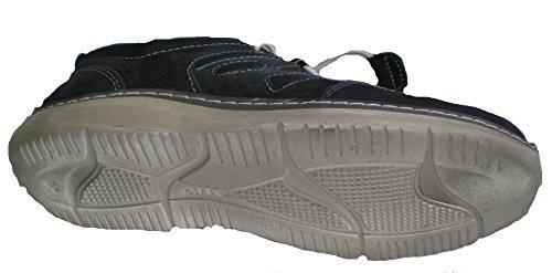 Ara Heren Lederen Sneaker Blauw