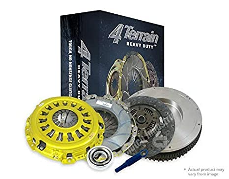 4Terrain Ultimate Premium Clutch Kit | ER2 Heavy Duty Cover Assembly | Heavy Duty Clutch Plate