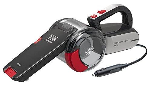Black & Decker PV1200AV-XJ Autosauger Dustbuster Pivot, Bü rstenaufsatz, Fugendü se, flexiblem Saugschlauch, Aufbewahrungsnetz Stanley Black & Decker Deutschland GmbH
