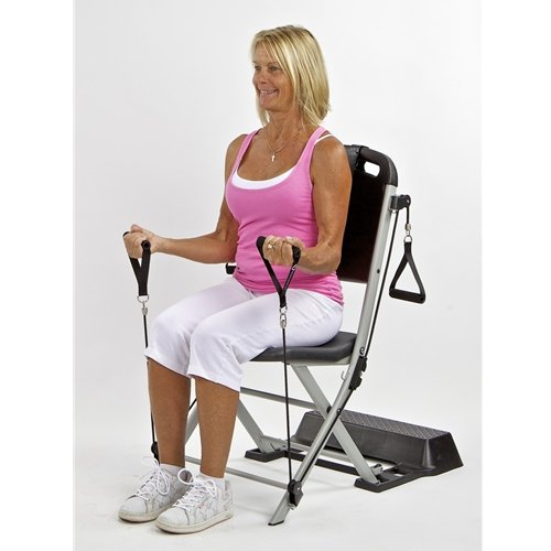 The Resistance Chair Resistance Band Seated Exercise System