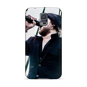 AlissaDubois Samsung Galaxy S5 Bumper Cell-phone Hard Cover Provide Private Custom Realistic Asking Alexandria Band Series [JNU9275Ulxd]