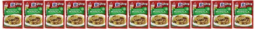 McCormick Chicken Marsala, 1.25 oz (Case of 12) by McCormick