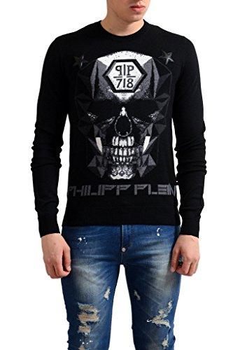 a447ffc82d2 Philipp Plein Homme Limited Edition 100% Wool Men s Crewneck Sweater US S IT  ...