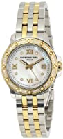 Raymond Weil Women's 5399-SPS-00995 Tango Date Two-Tone 44 Diamonds Watch by Raymond Weil