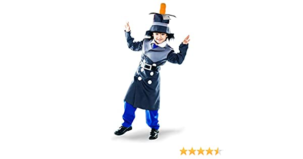 Disfraz de Inspector chiflado para niño: Amazon.es: Juguetes y juegos