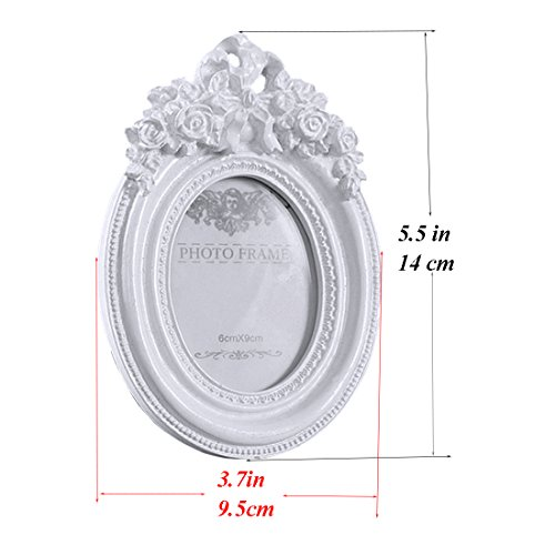 65cbb7068b9 Buy Giftgarden 2.5x3.5 Oval Picture Frame White Frames Wedding Gifts ...