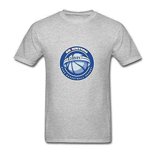 Amazy Duke Basketball Report Men's shirt Grey S