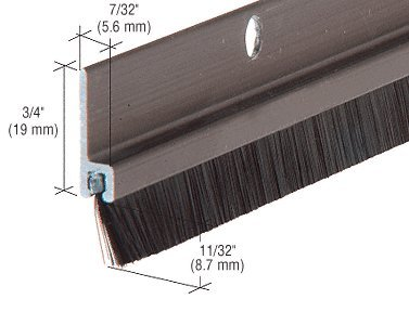 long bristle weatherstrip - 3