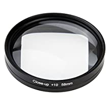 58mm 10X Close-Up Lens Macro Lens Filter for GoPro HERO4 HERO5 Session