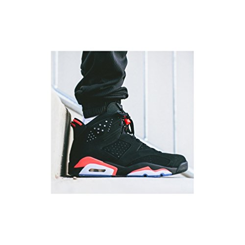 Nike Jordan Air VI retro infrared 384664 023 (42,5)/8/9, diseño de bandera de Reino unido