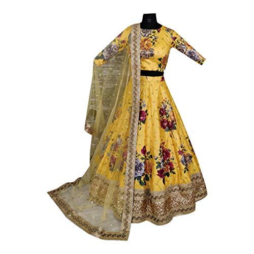 Ethnic Indiano Chaniya Choli Designer Emporium Bapa Sposa Yellow Ultimo Bollywood Tradizionale Lehenga Ghaghara Dupatta Nuovo FrqrwCtS