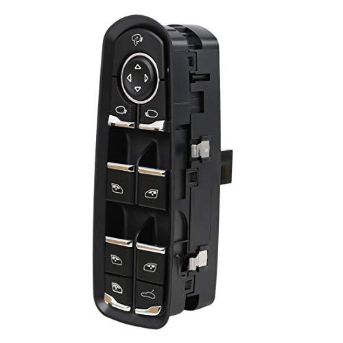 uxcell Front Left Power Door Window Switch 7PP959858RDML for 2010-2014 Porsche Panamera