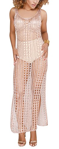 Women's Sexy Spaghetti Straps Swimsuits Bodycon Mesh Bikini Cover Ups Swimwear See Through
