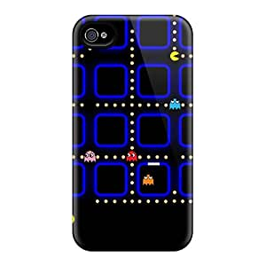 For Iphone 4/4s Protector Case Pac Man Phone Cover