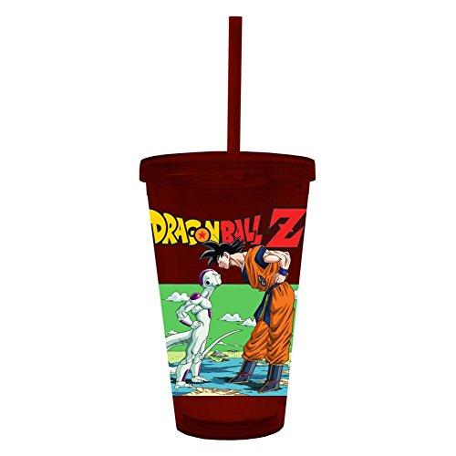 (Dragon Ball Z Freiza and Goku 16 oz. Travel)