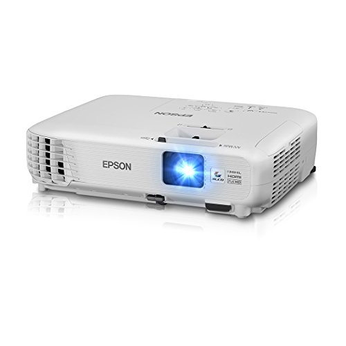 Epson Home Cinema 1040 1080p, 2x HDMI (1 MHL), 3LCD, 3000 Lumens Color and White Brightness Home Theater Projector (Certified Refurbished)
