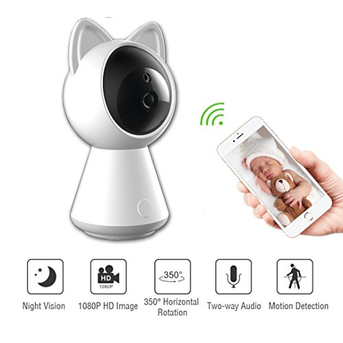120 Fps Dvr (Waton Camer Wireless IP Indoor Security Surveillance System1020p HD Night Vision, Remote Monitor , Android App - Cloud Service Available)