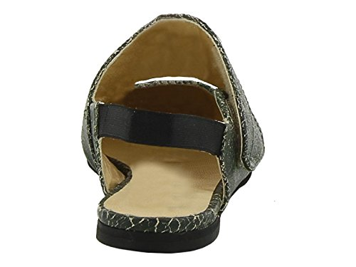 Femme Chaussures À ERIKA Vert Cuir Talons ECV6PSE201 CAVALLINI OqRRaSwZPz