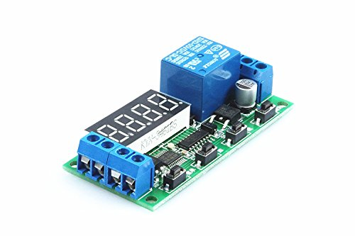 KNACRO 5V Delay Controller Delay-off on-off cycle of the external trigger delay time is adjustable switching relay module