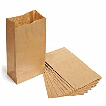GOOTRADES Kraft Paper Bags (pack of 50)