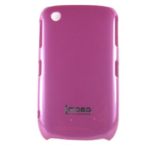 MOBO IM-HC-UVMBB8520-01PK Leather Cell Phone Case for Blackberry 8520/8530/9300/Curve Gemini - 1 Pack - Retail Packaging - Pink