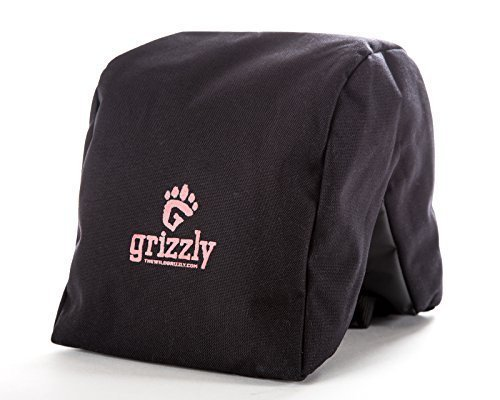 Grizzly Camera Bean Bag LARGE BLACK, Photography Bean Bag, Video Bean Bag, Camera Support, Camera Sandbag, Camera Beanbag, Spotting Scope Support, Birders Camera, Safari Equipment, Photography Tours (Camera Bean Bag)