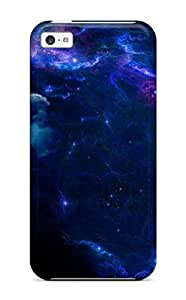 For Jane Fisher Iphone Protective Case, High Quality For Iphone 5c Nebula Skin Case Cover