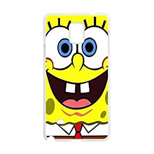 Samsung Galaxy Note 4 Phone Case Cover White Sponge Bob EUA15980799 Harley Davidson Cell Phone Covers