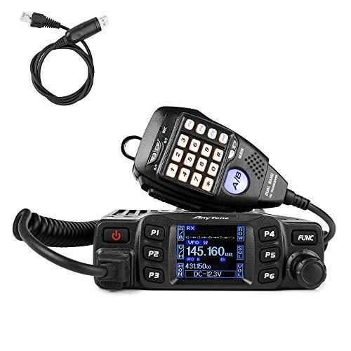 AnyTone AT-778UV Mobile Radio Dual Band VHF/UHF Car Radio 25W