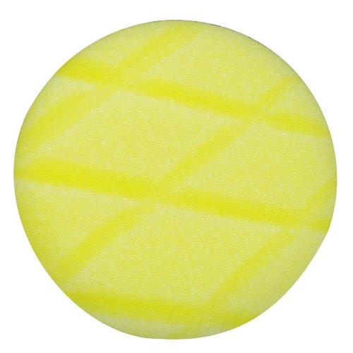 Astro  4635 3-Inch Yellow Diamond Cut Foam Pad, Velcro