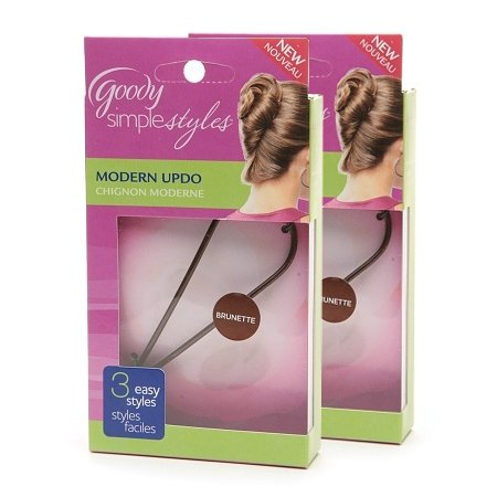 Goody Simple Styles Modern Updo Maker, Assorted Colors, Dark and Light…