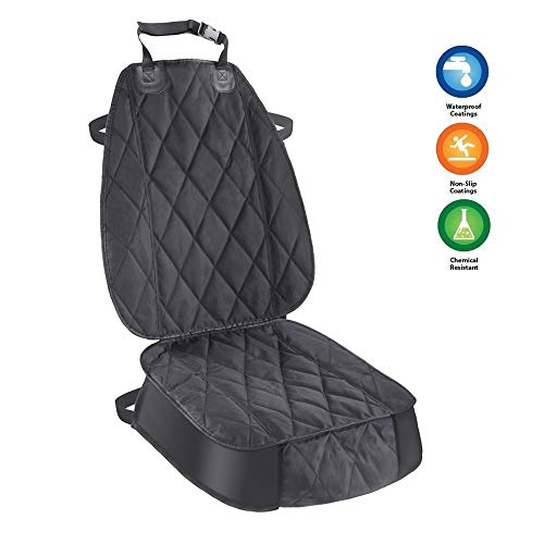 AsFrost Dog Seat Cover Cars Trucks SUVs, Thick 600D Heavy Duty Pets Car Seat Cover, Waterproof & Wear-Resistant Durable…