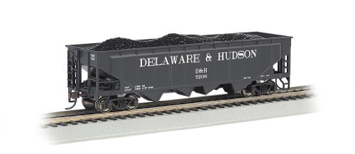 - Bachmann Industries HO Scale Delaware and Hudson 40' Quad Hopper