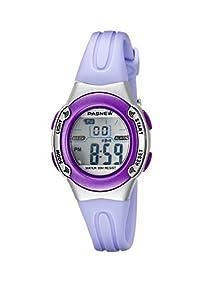 HighQuality PASNEW Water-proof Children Girls Sport Watch N1 (Purple)