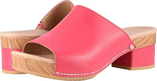 Dansko Women's Maci Sandal Raspberry Full Grain Size 39 EU (8.5-9 M US Women) by Dansko