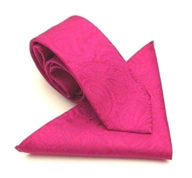 Van Buck England - Corbata - para hombre Rosa rosa cereza Talla ...