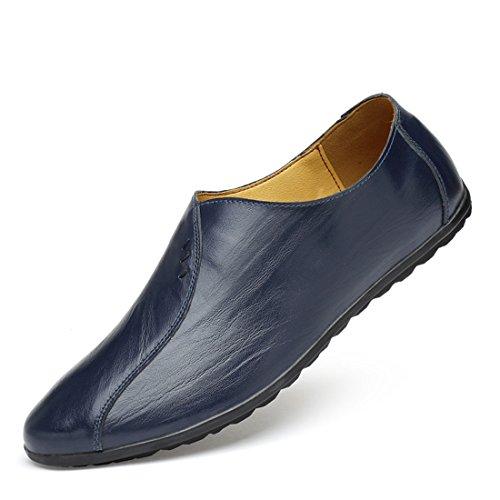 Mocassins Décontractés Classiques Pour Hommes - Mocassins De Conduite Soft Slip Sur Chaussures Yj1803 Marron