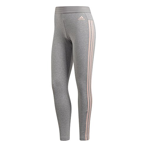 Mujer Gris Heather S17 Haze medium Ess 3s Coral Mallas Adidas OPtIqx