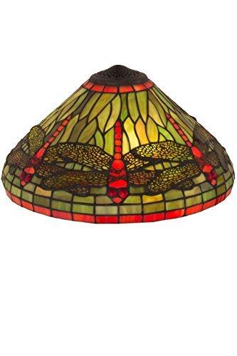 16 in. Dragonfly Glass Shade by Meyda by Meyda