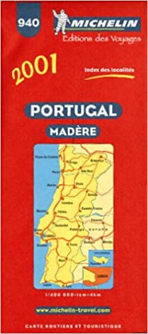 Michelin Portugal Map Michelin Country Maps Michelin - Portugal map michelin