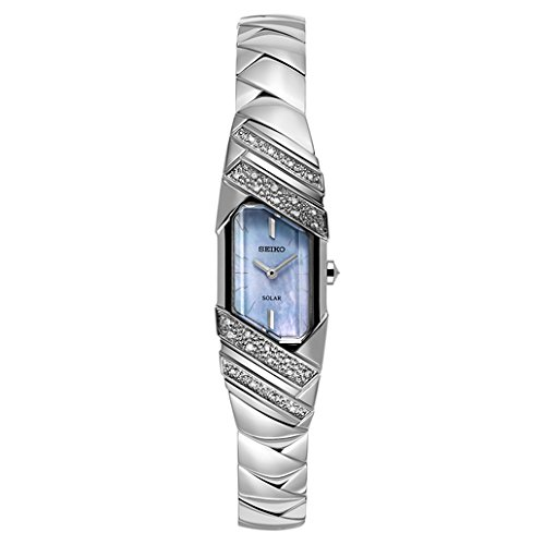 Seiko Women's 'TRESSIA' Quartz Stainless Steel Casual Watch, Color:Silver-Toned (Model: SUP331)