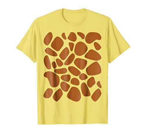 Giraffe Print T Shirt Pattern Trick or Treat Jungle Animals