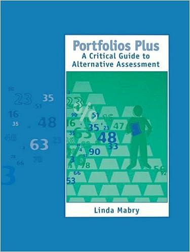 Portfolios Plus: A Critical Guide to Alternative Assessment 1-Off 1-Off Series