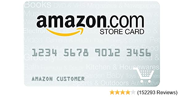 Amazon com: Amazon com Store Card: Credit Card Offers