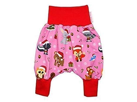 Unbekannt bebé Pantalones Bombachos Navidad Color de Rosa Pantalones  Bombachos Pantalones Jersey de Kleine Reyes  Amazon.es  Ropa y accesorios 148d2648ece6