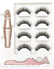 SODIAL Magnetic Eyelash Belt 1 Piece Magnetic Eyeliner and Tweezers Kit-N18