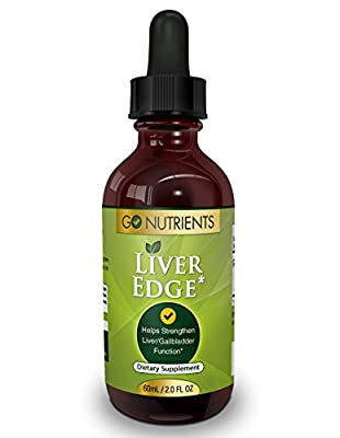 Liver Edge - Liver Cleanse and Detox Supplement - Feel Great and Boost Energy - 2 oz
